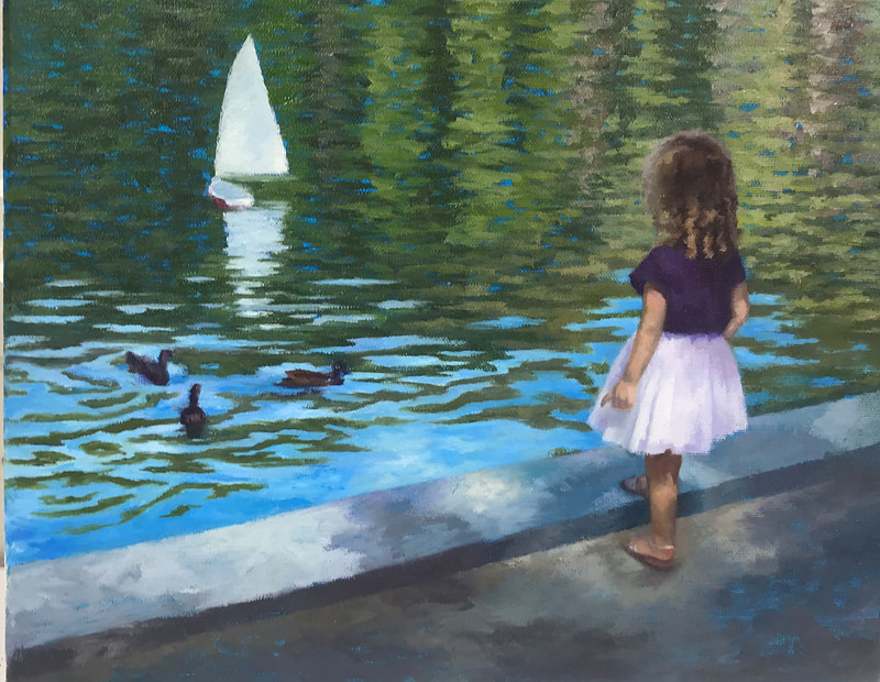 Oil painting Duck Tales by Passionate Painters