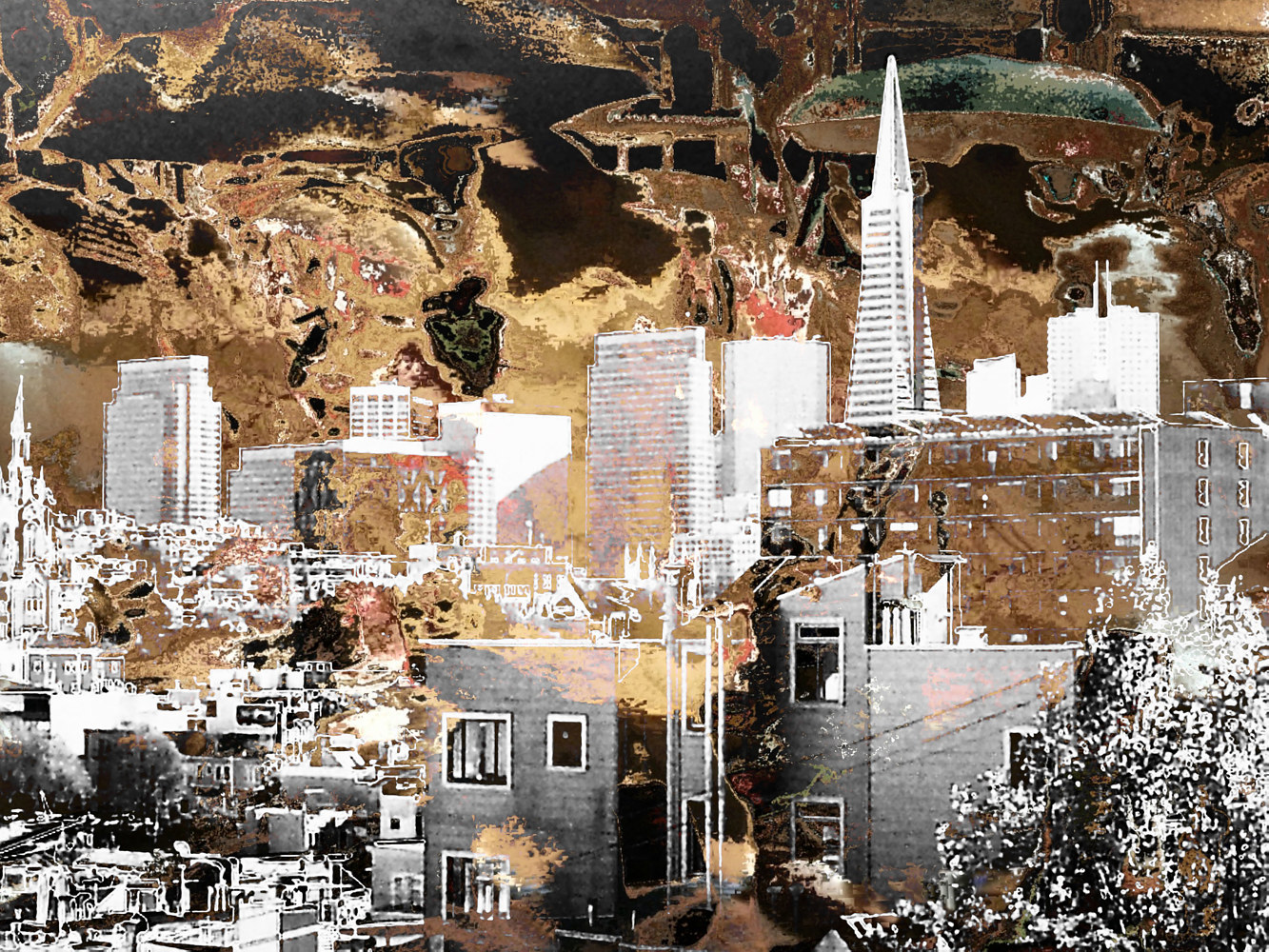 Photography San Francisco Survives Another Day by Pamela Pitt