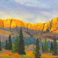 Oil painting Evening Light by Brent Ciccone by Passionate Painters