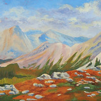 Oil painting Ridge Walking by Passionate Painters