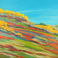 Oil painting Prairie Fire by Brent Ciccone by Passionate Painters