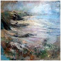 Oil painting AFTER THE STORM by Anne Farrall Doyle