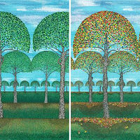Print 4 Seasons by Lawrie  Dignan