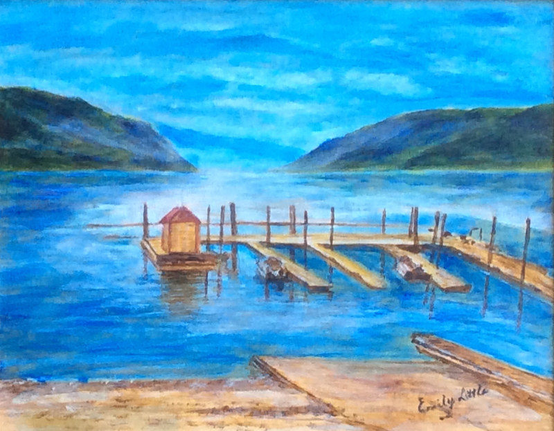 The Old Dock by Passionate Painters