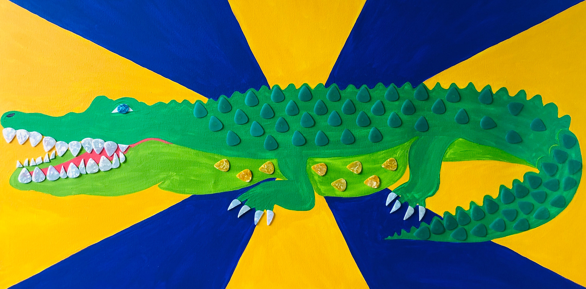 Doing the Alligator by Kelly Schafer