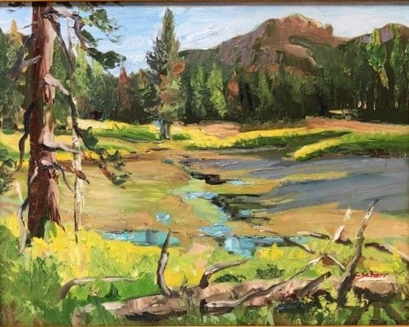 East of Clark Fork by connie scherr