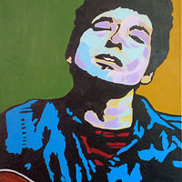 Painting Dylan by Gordon Sellen