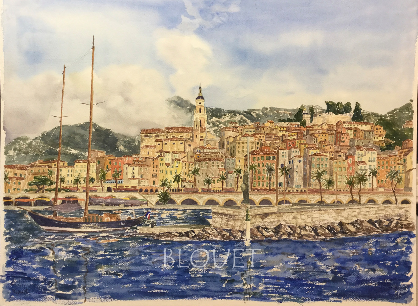 #37 Menton 2 by Sophie Dassonville