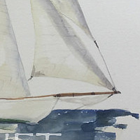 Sails # 3 by Sophie Dassonville