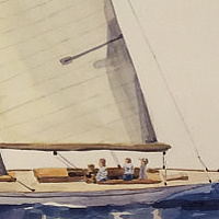 Sails # 8 by Sophie Dassonville