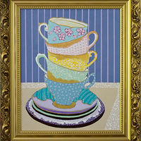 Painting Tea Time by Gordon Sellen