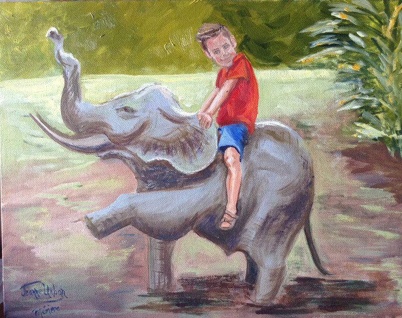 At the Zoo! by Passionate Painters