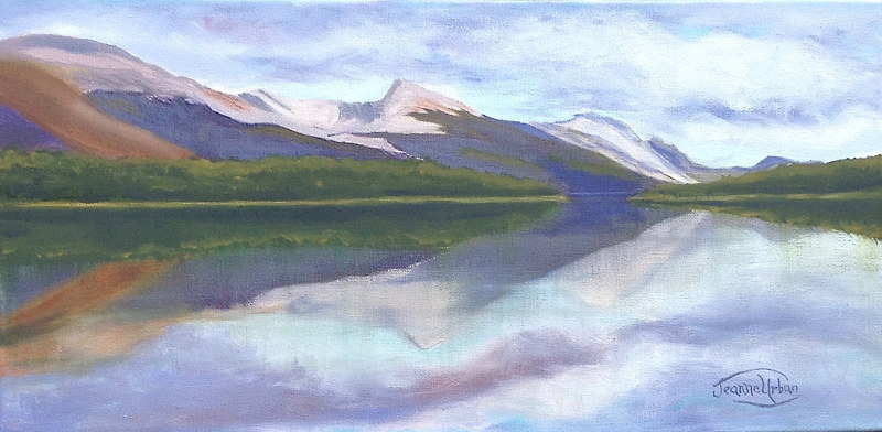 Mountain Reflections by Passionate Painters
