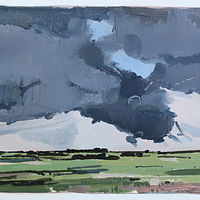 Acrylic painting Storm Watch  by Harry Stooshinoff