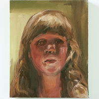 Oil painting Sabrina by Mary Hayes