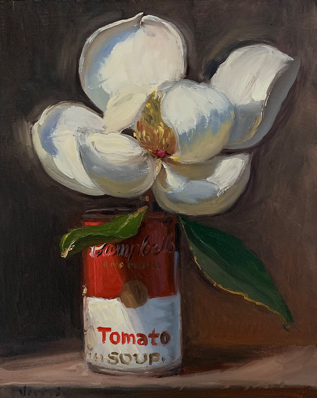 """Magnolia in a Soup Can"" by Noah Verrier"