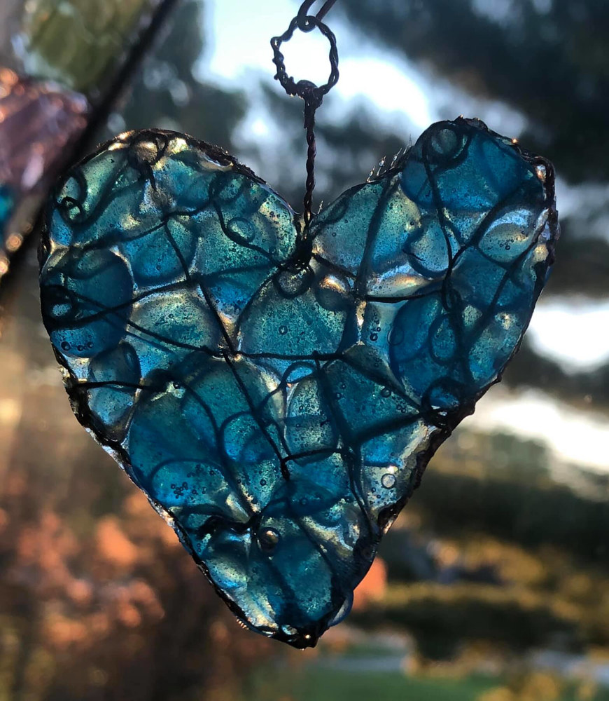 Little Blue Heart by Steven Simmons