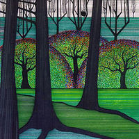 Print Walk in the Park by Lawrie  Dignan