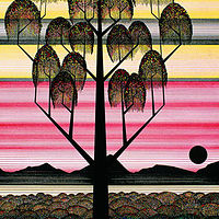 Print Jewel Tree by Lawrie  Dignan