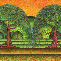 Print Okanagan Tapestry by Lawrie  Dignan