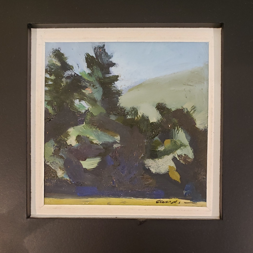 Oil painting little one 3x3in oil  by Michael Gaudreau