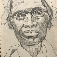 Sojourner Truth Sketch by Edward Miller