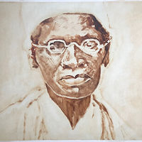 Sojourner Truth Oil Sketch by Edward Miller