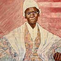Sojourner Truth 30x48 by Edward Miller