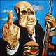 Oil painting Bad Taste by Angelo Mariano
