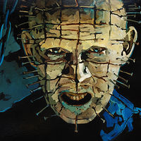 Oil painting Hellraiser by Angelo Mariano