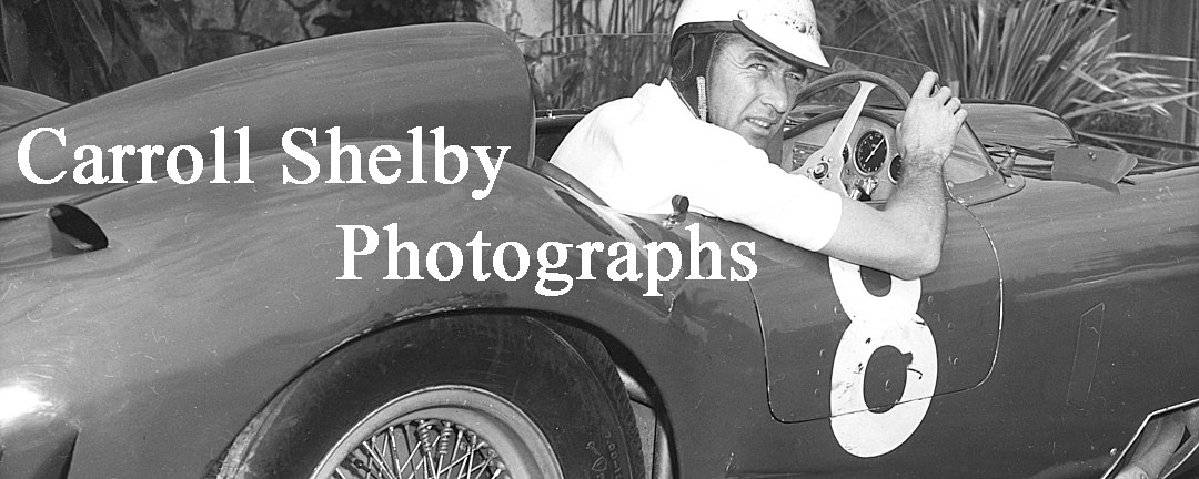 Carroll Shelby Gallery - William Edgar Archive by William Edgar