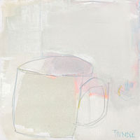 Acrylic painting Tea For Tuesday by Sarah Trundle