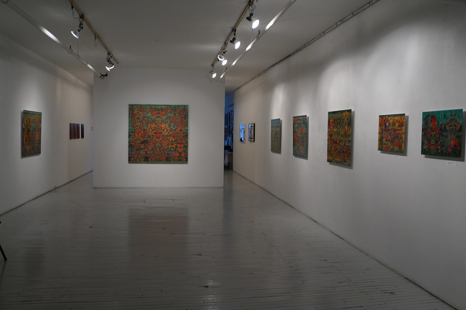 """Symbols of signs"" exhibition view by Krasimira Dimtchevska"