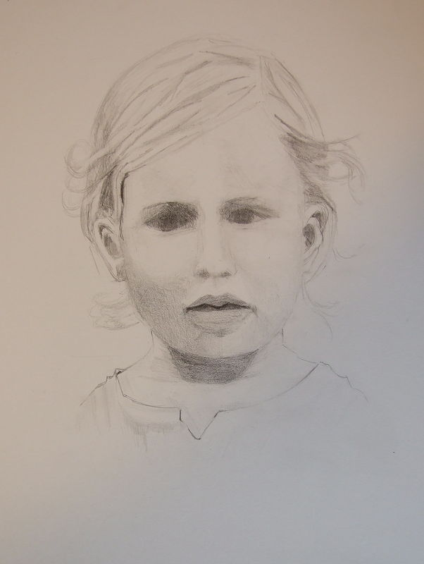 Drawing Baby 1 by Jill  Tompkins