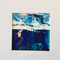 Acrylic painting Small scape 1 by Timothy J Sullivan