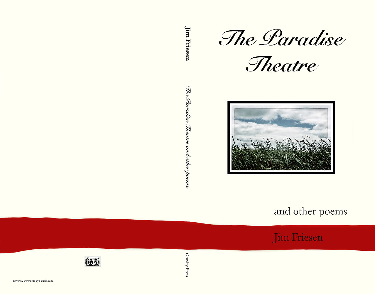 Paradise Theatre - Cover copy for print copy by Jim Friesen
