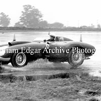 Photography [PH-RASB7] Phil Hill in John Edgar's Ferrari 410 Sport - Santa Barbara Road Races - May 18, 1957 by William Edgar