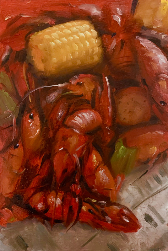 """Crawfish Boil""  by Noah Verrier"