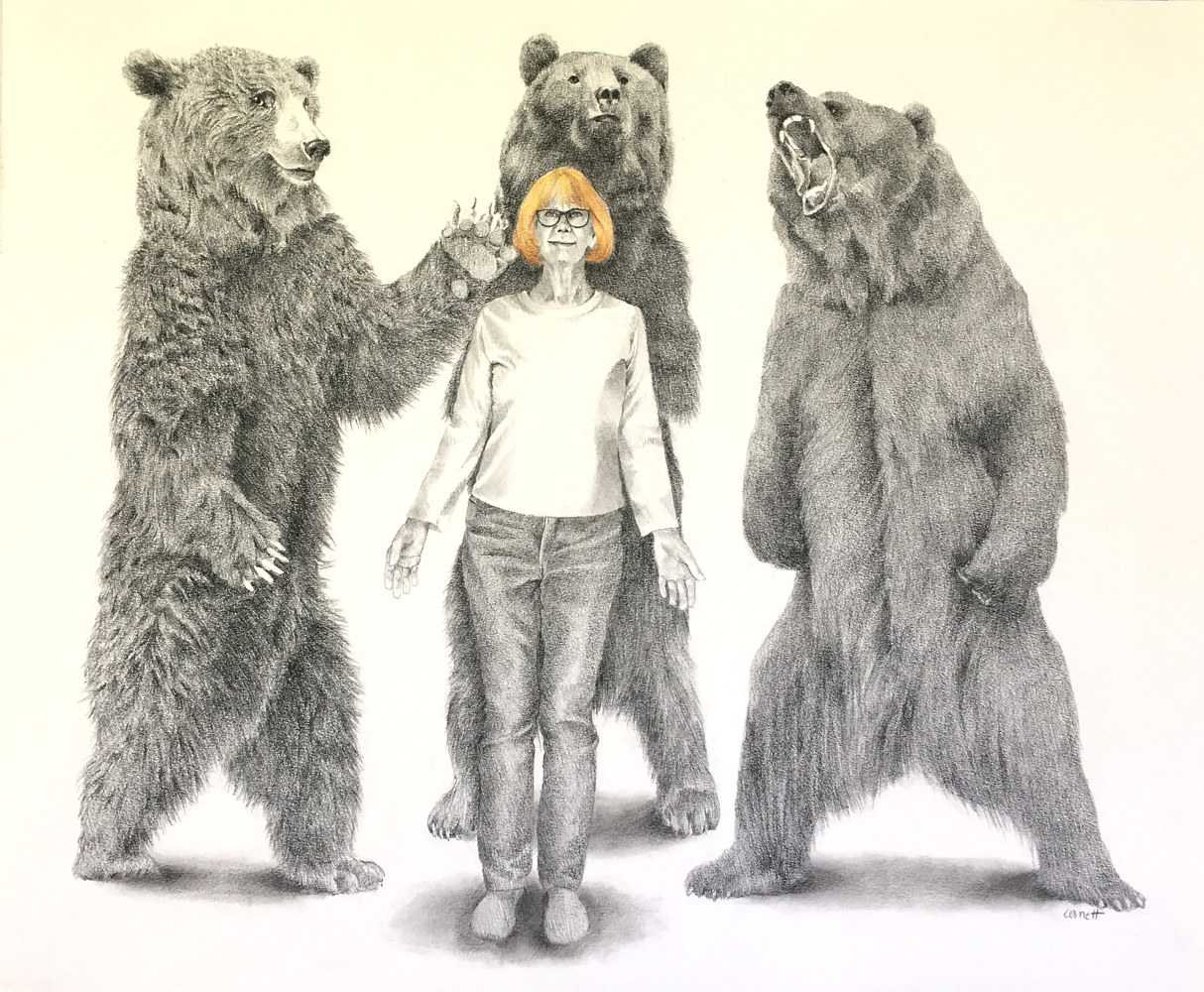 Drawing Goldilocks and the Three Dancing Bears by Ellen Cornett