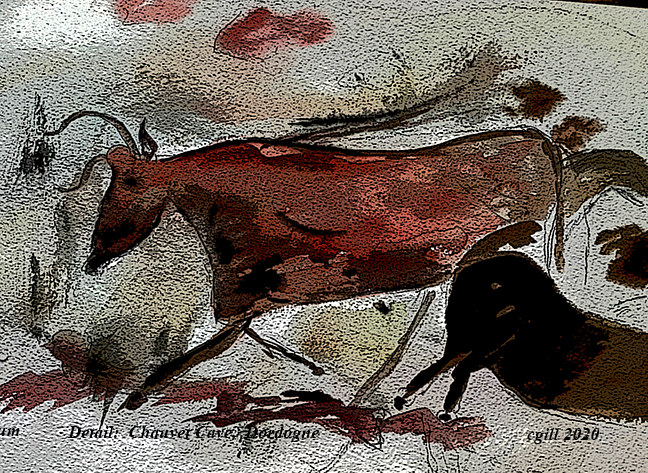 Chauvet  Cave by Chris  Gill