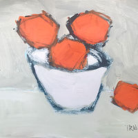 Acrylic painting Oranges by Sarah Trundle