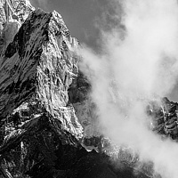 """Ama Dablam Serpentine"" by Hunter Madsen"