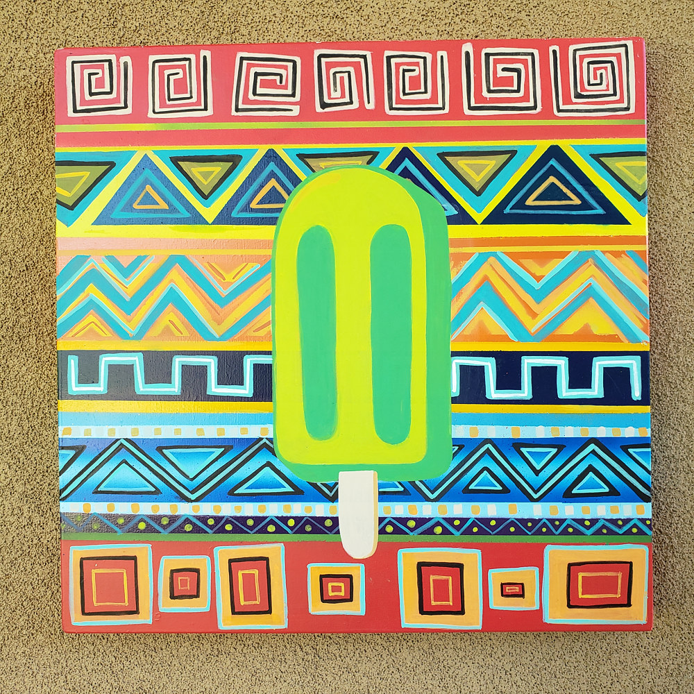 Peyote Popsicle  by Isaac Carpenter
