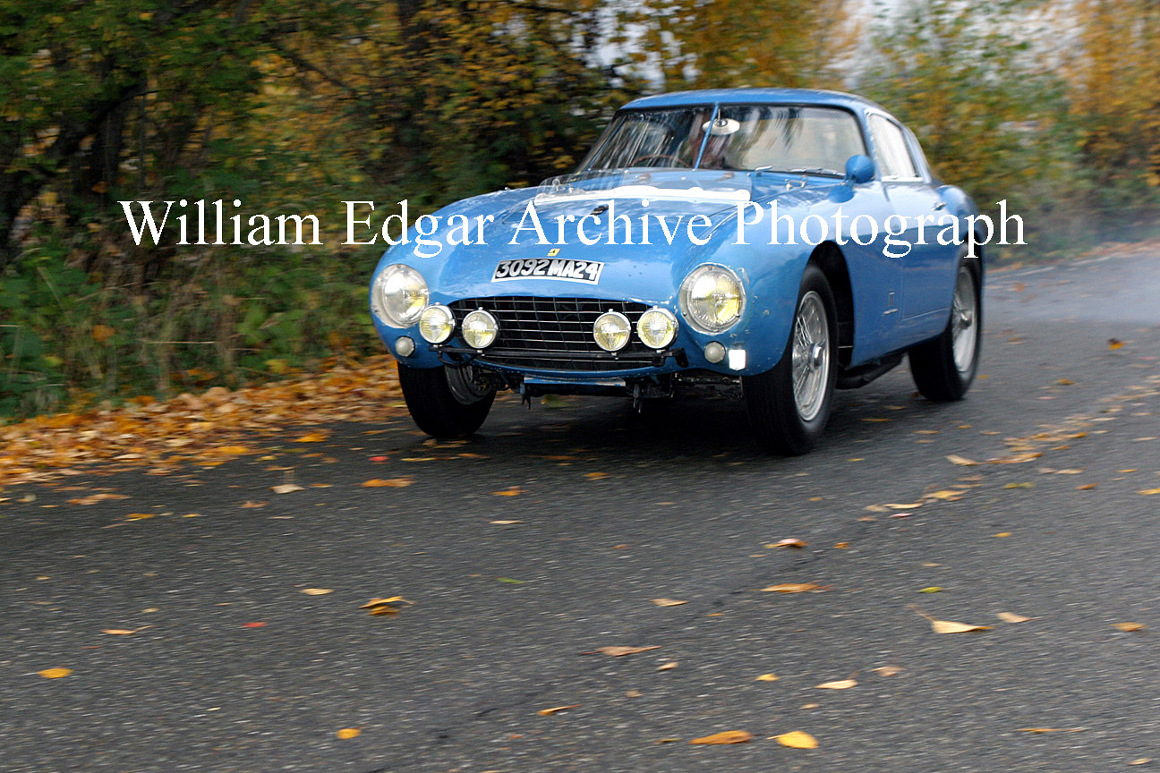 Photography [CC-BMPFM] Ferrari 500 Mondial Berlinetta PF, one of only 2 built - Medina, Washington - November 2006 by William Edgar