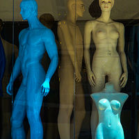 BlueMan by Robert Easton