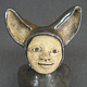 Key Holder Dark with Ears by Leanne Schnepp