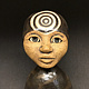 Mini Bust with Third Eye by Leanne Schnepp