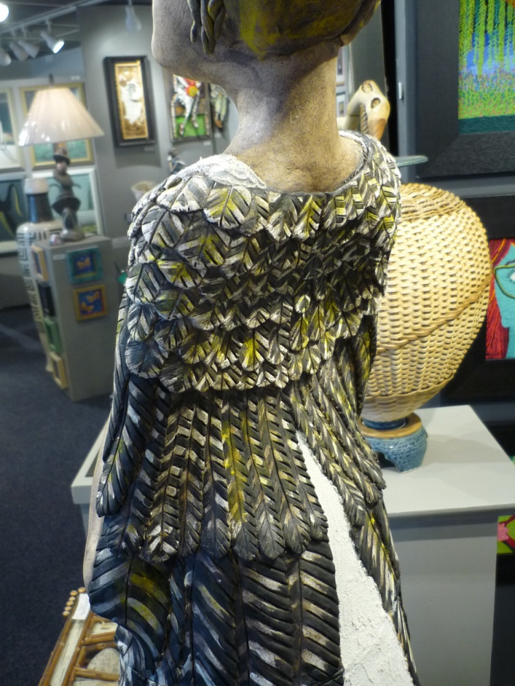 Freja's winged cloak finished by Leanne Schnepp