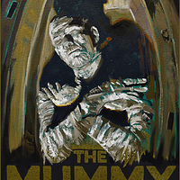 Oil painting The Mummy by Angelo Mariano