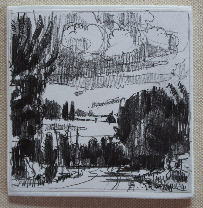 Drawing To Garden Hill  by Harry Stooshinoff